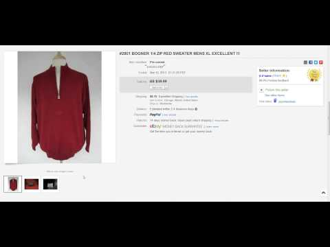 The Clothing Classroom: 10 Sweaters That Sold On Ebay – Make Money Online –  Raiken Profit