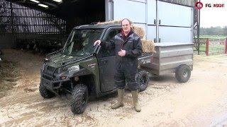 10. Polaris diesel ranger: On-test