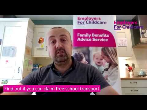 Find out if you can claim free school transport