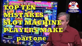 """Part one of a two-part video where Mike Shackleford, also known as the """"Wizard of Odds"""" gives his top 10 list of mistakes that slot machine players make. Topics covered include: playing slots in the first place; playing in """"tight"""" casinos; overplaying; playing participation slots; and not using a players card. Mike's web site is http://www.wizardofodds.com Get FREE online casino money! No deposit needed! http://www.americancasinoguide.com/online-casino-promotions.htmlGet more than 200 casino coupons and save more than $1,000 - http://www.americancasinoguide.com/order-now.html .SUBSCRIBE for more videos: http://bit.ly/1G4l0xvTips on Blackjack: http://y2u.be/5ki_92QrqfITips on Slot Machines: http://y2u.be/7Wkubf1PrWgTips on Craps: http://y2u.be/7daSiVupvmYTips on Video Poker: http://y2u.be/gLYQ3ZIowPAFor the latest news and insights on casinos visit: http://blog.888casino.com/"""