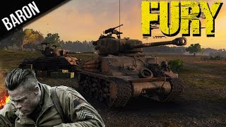 World of Tanks Fury Review&Gameplay (Premium M4A3E8 Fury Tank - WOT 9.3)