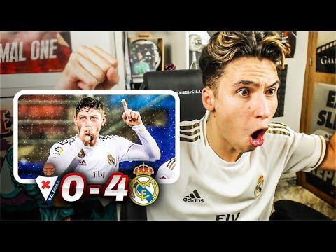 REACCIONES DE UN HINCHA Eibar vs Real Madrid 0-4 *FEDE VALVERDE ES EL FICHAJE*