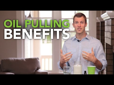 Coconut Oil Pulling Benefits and How to do Oil Pulling