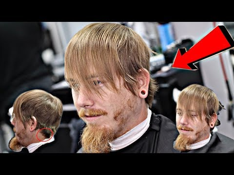 HUGE TRANSFORMATION HAIRCUT | MUST SEE | COMBOVER BALD FADE
