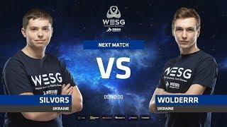 Silvors vs Wolderrr, game 1