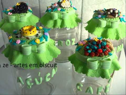 Potes em Biscuit - 03 (Val & Zé)