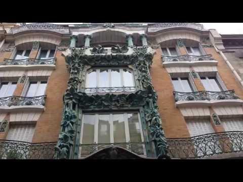 Art nouveau rue d'Abbeville 75010 Paris