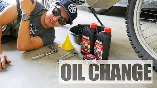 7. Yamaha XT250 Oil Change and Oil Filter Replacement