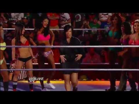 Divas Summertime Beach Battle Royal: Raw, June 25, 2012