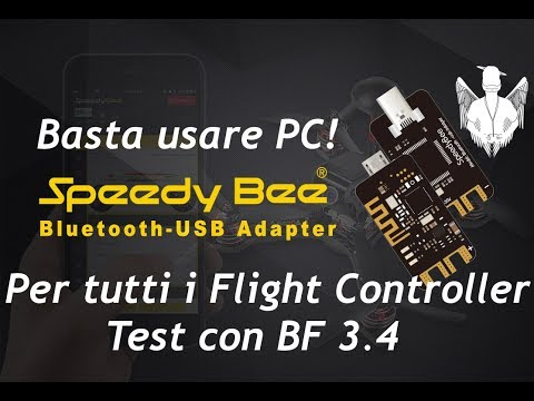 Speedy Bee Review 1° Test BF 3.4 - Basta PC & Betaflight???? (ITA) by Banggood