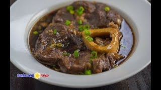 Bulalo Beef Pares is a beef shank dish cooked similar to beef pares and served with hot broth (soup) and garlic fried rice (sinangag). This can be considered as a crossover between the popular Filipino bulalo (a type clear broth soup) and beef pares.Here is a link to my beef pares video: https://youtu.be/K6JS7wcbXicHere is a link to my bulalo video: https://youtu.be/sRs-rtAcSGU