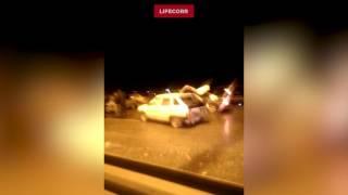ДТП в Дагестане из 17 машин