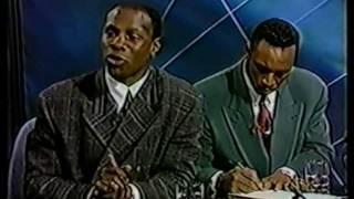 Chris Eubank And Nigel Benn Sign The Fight Contract(Funny)