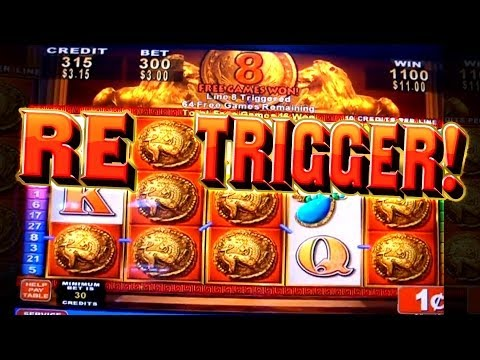 Roman Tribune LOTS OF SPINS & Big Win! – 1c Konami Video Slots