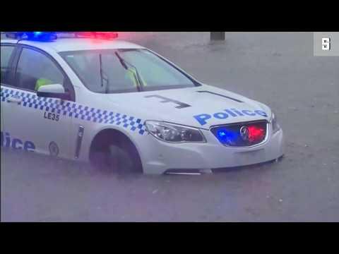 Blitzflut: Rekord-Regen sorgt für Chaos in Sydney
