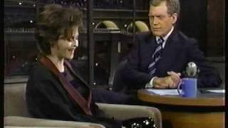 Helena Bonham Carter On Letterman (1996) Twelfth Night