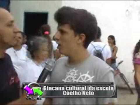 GINCANA COELHO NETO