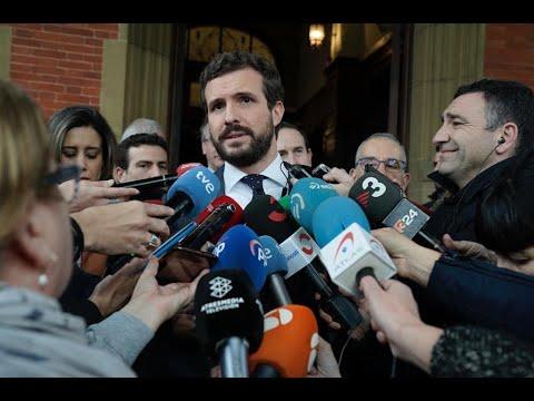 Casado: Denunciaremos en los tribunales a Torra y ...