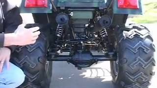 7. 250cc utility atv quad 4 wheeler hunting 250 cc 2x4