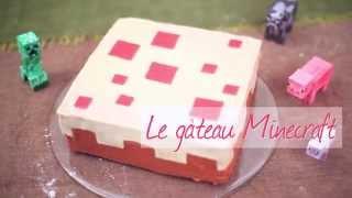 Le gâteau Minecraft