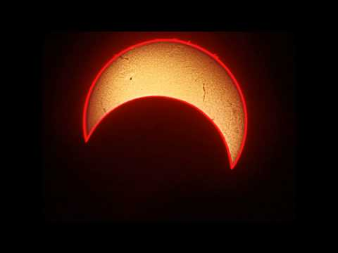 Solar Eclipse: Gorgeous Time Lapse Video