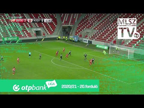 20. forduló: DVTK - Kisvárda 2-0 (2-0)