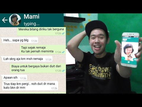 Video TEXT PRANK NYOKAP SAMPE DITELPON?! - Bad (Young Lex ft AwKarin) download in MP3, 3GP, MP4, WEBM, AVI, FLV January 2017