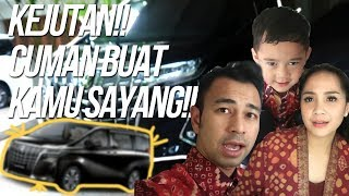 Video RAFFI SURPRISE MOBIL BARU!!! RAFATHAR NAIK KELAS!!!! MP3, 3GP, MP4, WEBM, AVI, FLV Mei 2019