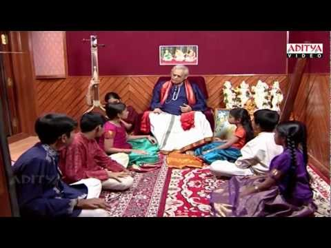 Indian classical music Lessons By Dr. Nookala China Sathyanarayana – part 4