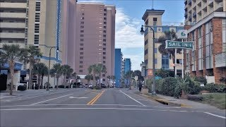 Myrtle Beach (SC) United States  City pictures : Driving Downtown - Myrtle Beach South Carolina USA