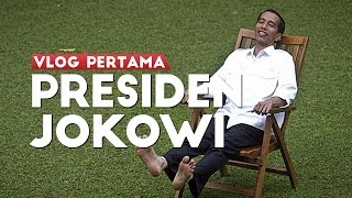 Video VLOG PERTAMA PRESIDEN JOKOWI MP3, 3GP, MP4, WEBM, AVI, FLV November 2017