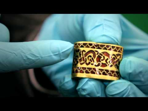Princely seax knife shows sophisticated craftsmanship of Anglo Saxon England