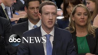 Download Video Facebook CEO Mark Zuckerberg answers questions, addresses possibility of regulation MP3 3GP MP4