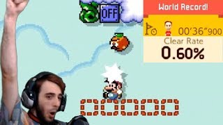 Super Mario Maker 2 Highlights | Sky Of Switches WORLD RECORD | Lethal Ejection | Best SMM2 Levels! by Verlisify