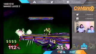 Mang0 takes 17 consecutive stocks off of Dunk