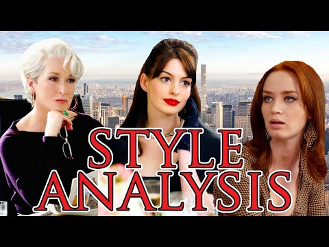 the devil wears prada style analysis 👠🏙☕️