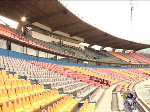 Entrega del estadio Atanasio Girardot