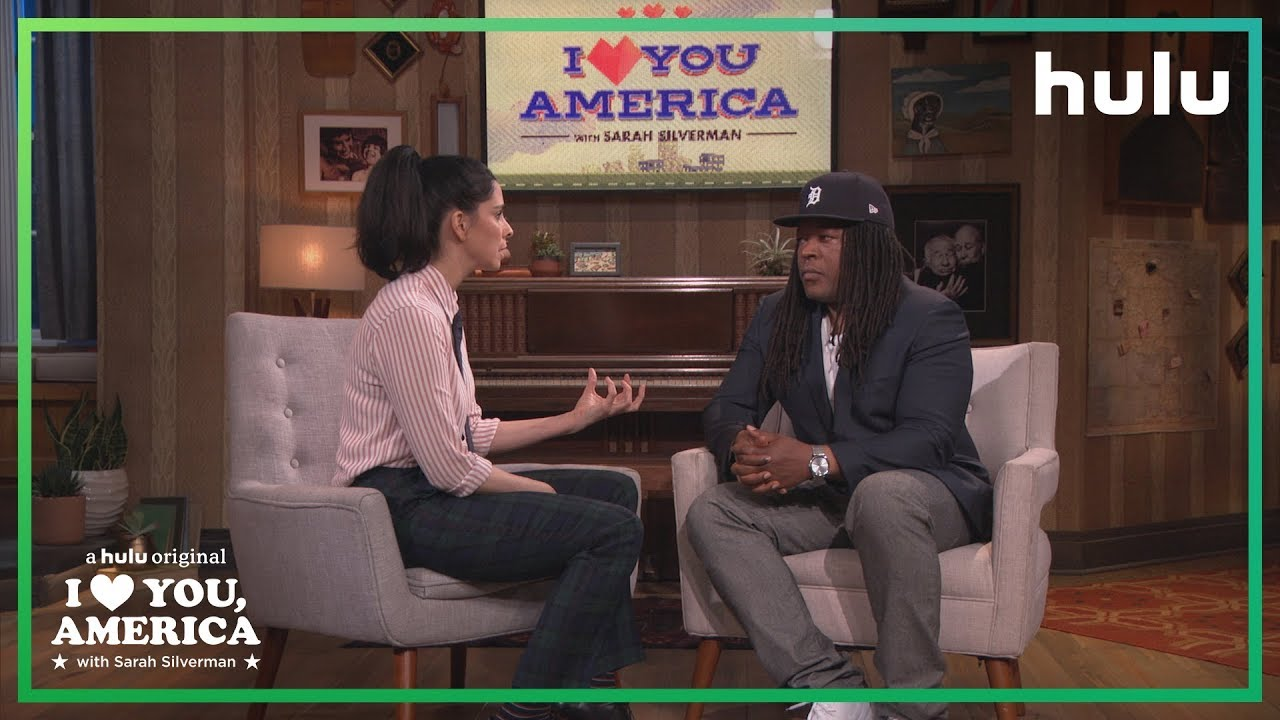 Sarah Silverman Interviews Shaka Senghor | I Love You, America