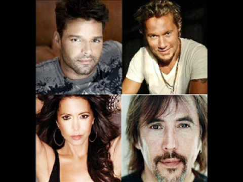 Ricky Martin, Diego Torres, Patricia Sosa y Alejandro Lerner: