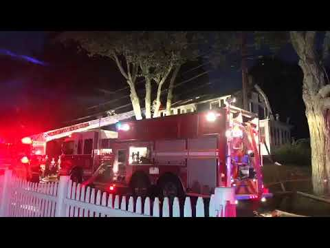Crews respond to massive gas explosions, fires in North Andover