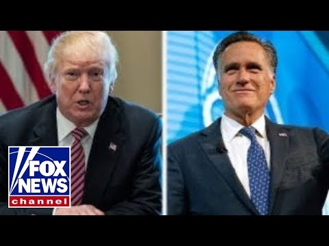 Romney willing to work with Trump on areas of common ground (видео)