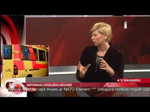 """Veselības ministres intervija LTV raidījumā """"Rīta Panorāma"""""""