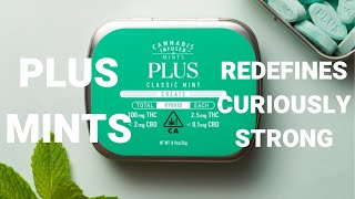 Plus Mints. The Plus stands for weed. Freshen before your session. by  Weeats Reviews