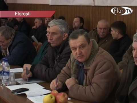 Masa rotundă cu agricultorii din Florești