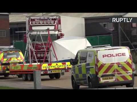 Video - Βρετανία: Η αστυνομία βρήκε εννέα ανθρώπους ζωντανούς στο πίσω μέρος φορτηγού στο Κεντ