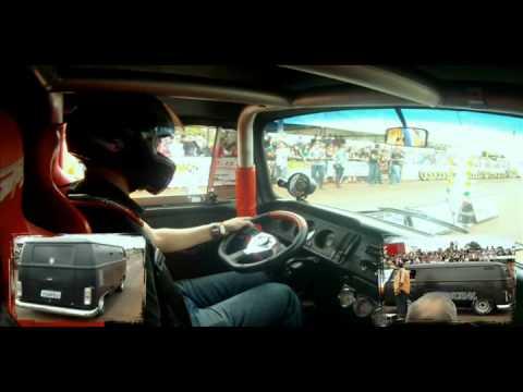 Kombi V8 - On board - Arrancada Quatro Pontes - PR