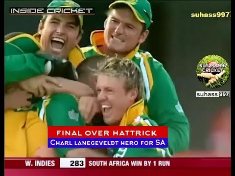 Most Shocking LAST OVER in ODIs. Charl Langelvedt Superhero| ROFL! Best Breath Taking Over