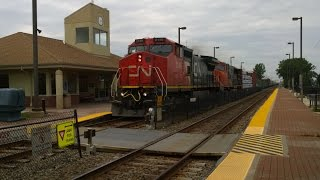 Prospect Heights (IL) United States  city pictures gallery : [HD] Railfanning Prospect Heights and Wheeling, IL on 7-8-2015 w/GTW 4911