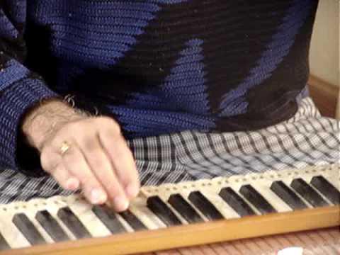 Harmonium Lesson 9 - Hey Ram Bhagwan