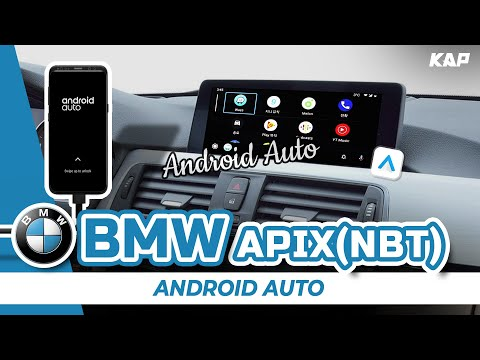 BMW APIX(NBT) SYSTEM Android AUTO Interface !!